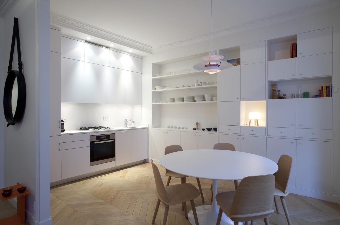 d couvrir une cuisine au design scandinave. Black Bedroom Furniture Sets. Home Design Ideas