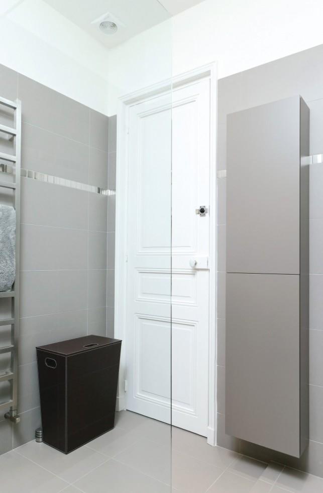 douche et porte