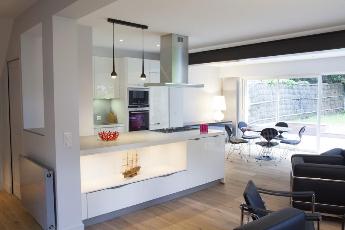 cuisine design blanche