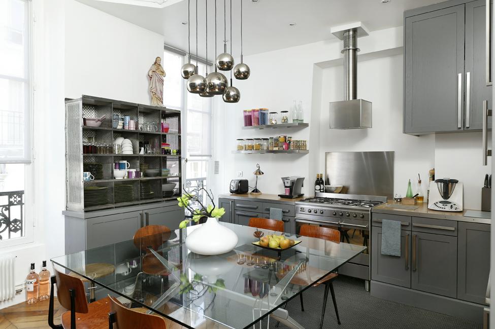 la cuisine marie les mat riaux et les styles. Black Bedroom Furniture Sets. Home Design Ideas