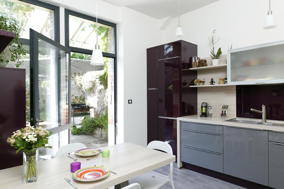 nolte wasquehal ensuite ce sera au tour de la terasse bton et chemins autour de la maison en. Black Bedroom Furniture Sets. Home Design Ideas