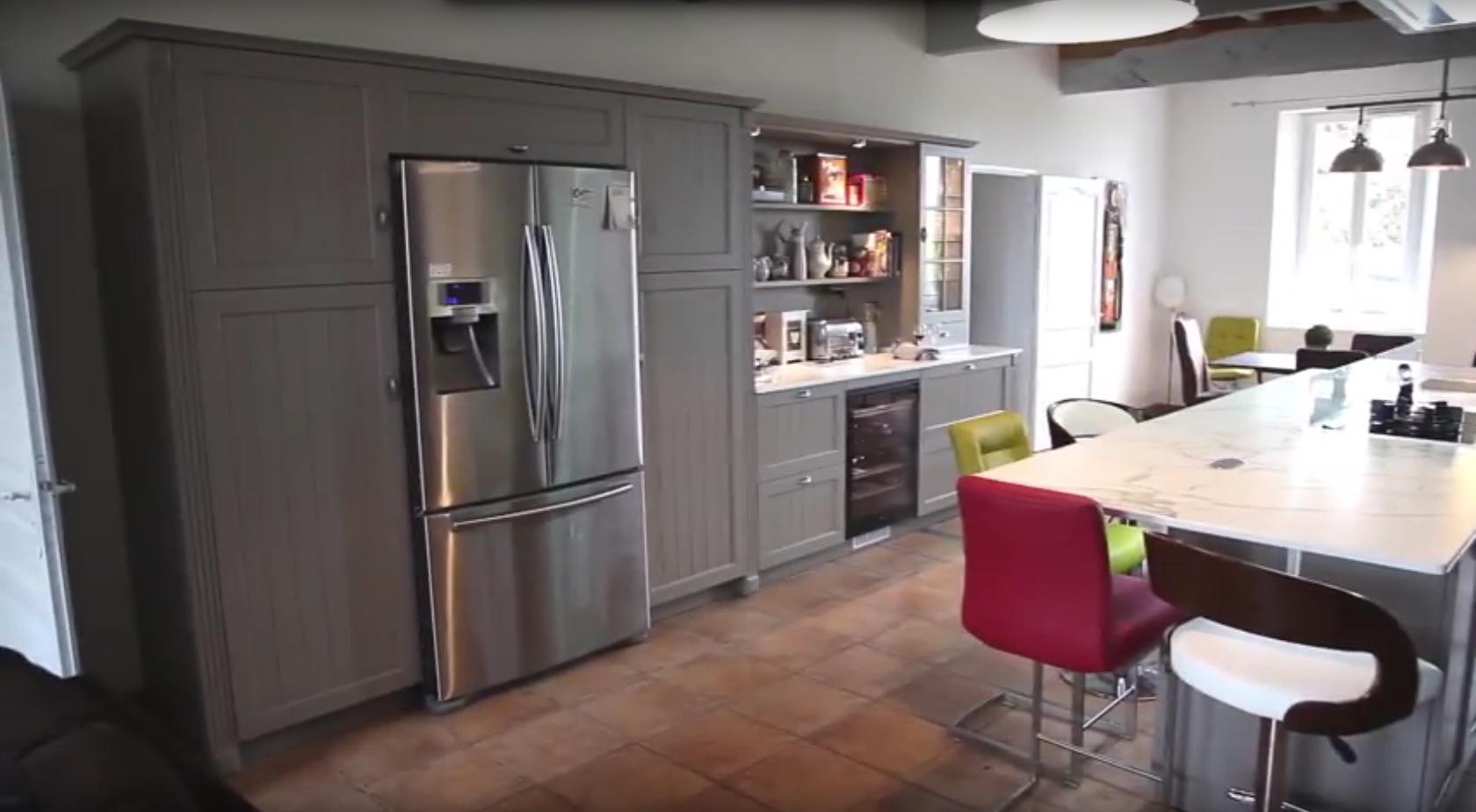 esprit cottage en cuisine cuisines et bains. Black Bedroom Furniture Sets. Home Design Ideas