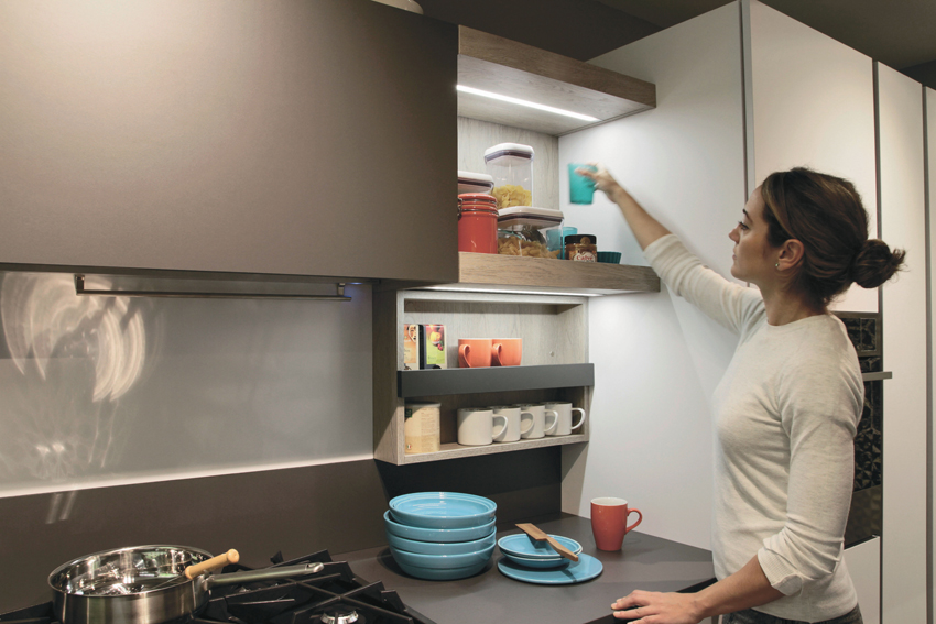 étagères cuisine
