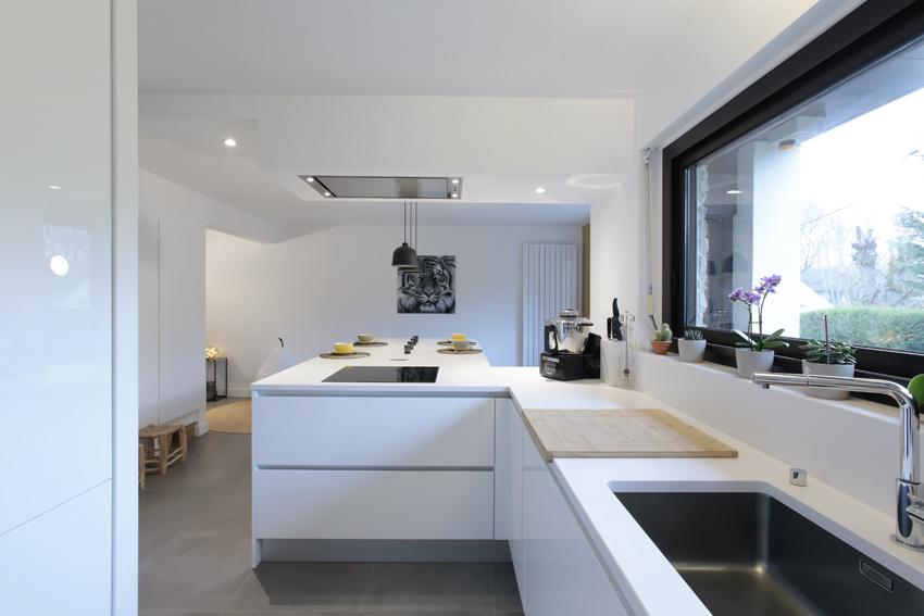 cuisine blanche moderne