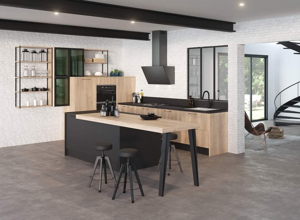 discac le style et l 39 ergonomie l 39 honneur cuisines et. Black Bedroom Furniture Sets. Home Design Ideas