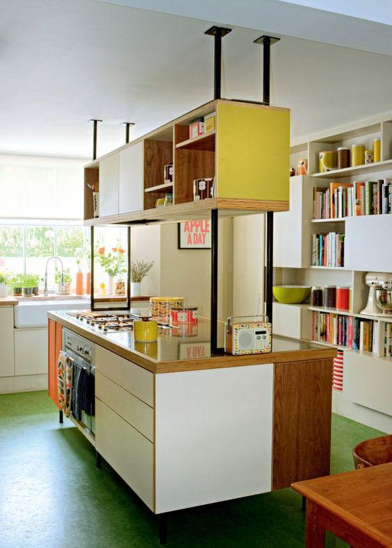 cuisine r tro 6 mod les chics et choc cuisines et bains. Black Bedroom Furniture Sets. Home Design Ideas