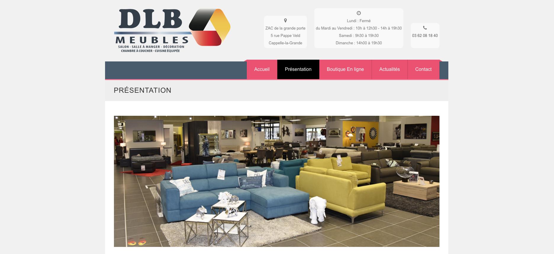 Dlb meubles fin de partie pour d d le belge cuisines for Dlb meuble
