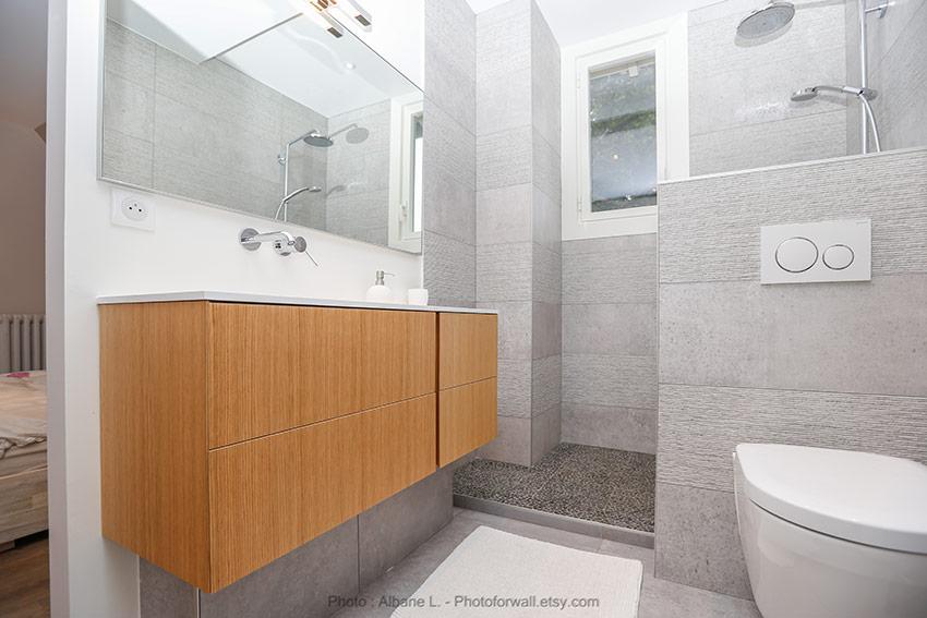 Ai concept la salle de bains joue l 39 ouverture cuisines for Concept salle de bain