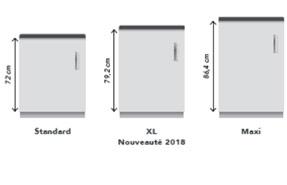 Ixina Presente Sa Gamme Xl Dediee Aux Petits Espaces Cuisines Et