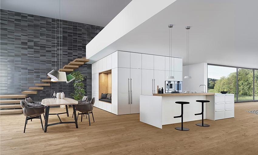 Cube ergonomique de leicht un espace dans l espace for Prix des cuisines leicht