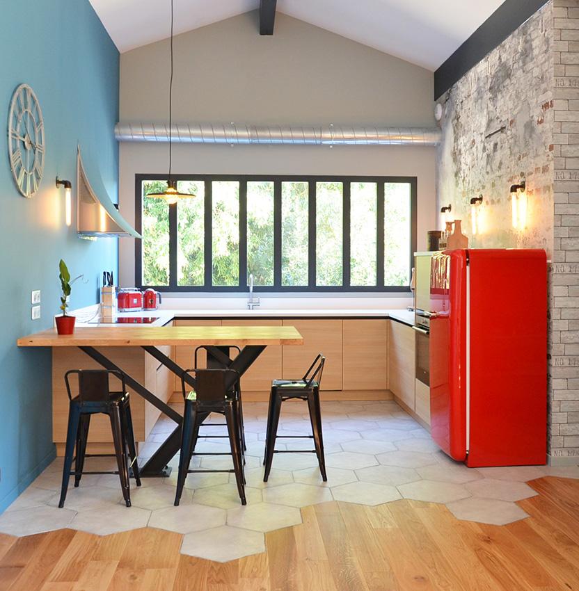 you laurent bach une cuisine pop et peps cuisines et. Black Bedroom Furniture Sets. Home Design Ideas