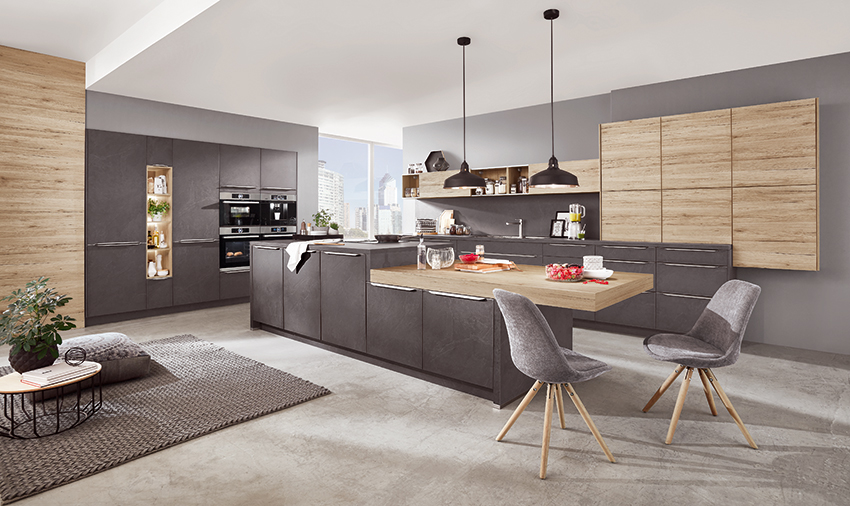 tendances 2019 bois pierre et m tal cuisines et bains. Black Bedroom Furniture Sets. Home Design Ideas