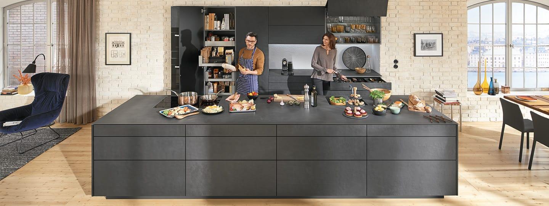 Optimiser l 39 espace dans sa cuisine dynamic space par blum cuisines et bains - Optimiser espace cuisine ...