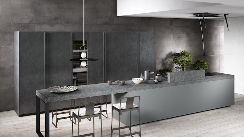 valcucine pr sente le configurateur machina cuisines. Black Bedroom Furniture Sets. Home Design Ideas