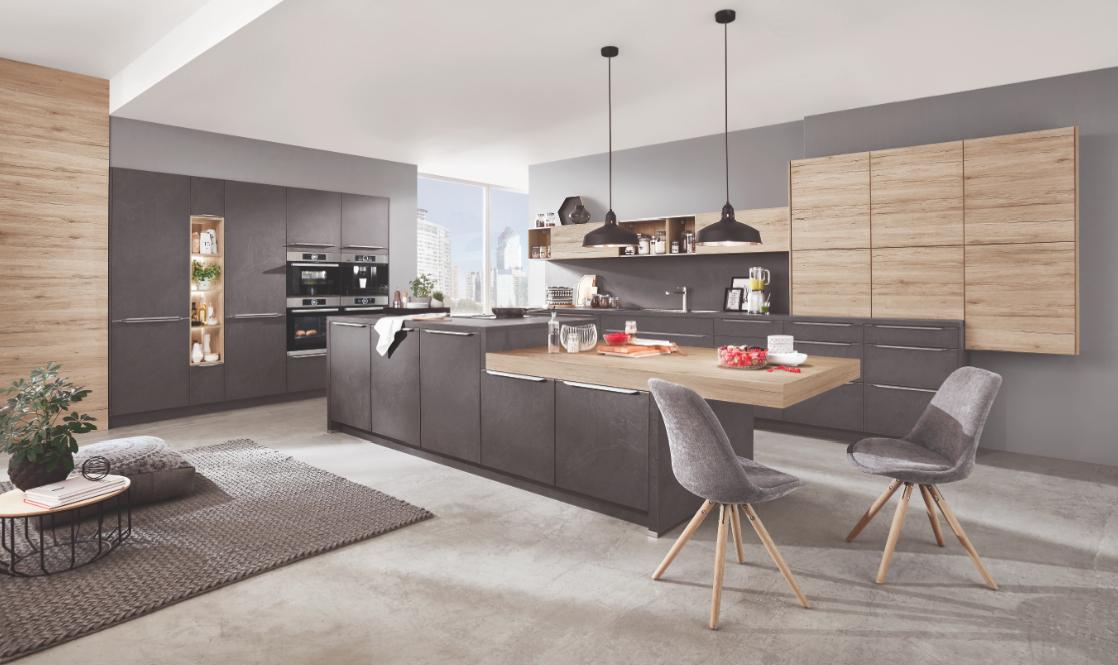 nobilia nouvelles couleurs et fa ades cuisines et bains. Black Bedroom Furniture Sets. Home Design Ideas